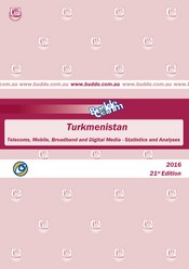 Turkmenistan-Telecoms, Mobile, Broadband and Digital Media-Statistics and Analyses
